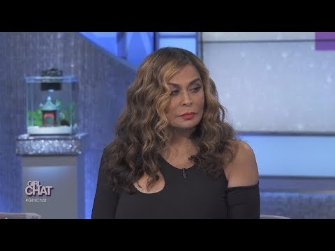 Miss Tina Knowles Lawson Tears Up