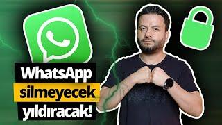 WhatsApp'a onay vermeyen mesaj alamayacak! (SON DURUM!)