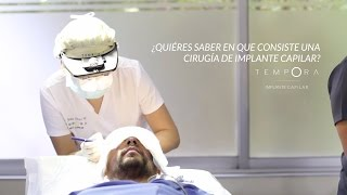 Implante capilar FUE - Clinica Tempora