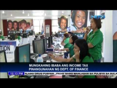 Finance Dept recommends lower income tax