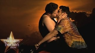 Repeat youtube video Seth Rogen On Kanye's Reaction to Bound 2 Parody - The Graham Norton Show