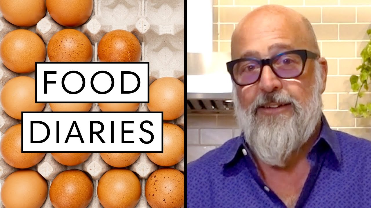 Everything Chef Andrew Zimmern Eats in a Day | Food Diaries: Bite Size | Harper's BAZAAR