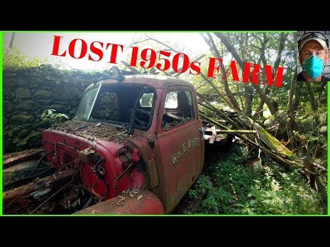 LOST ANTIQUES FOUND ON ABANDONED FARM