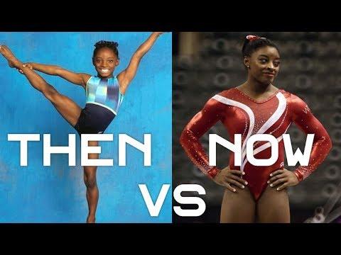 Simone Biles then (2010) vs now (2016/2017) | Gymnastics