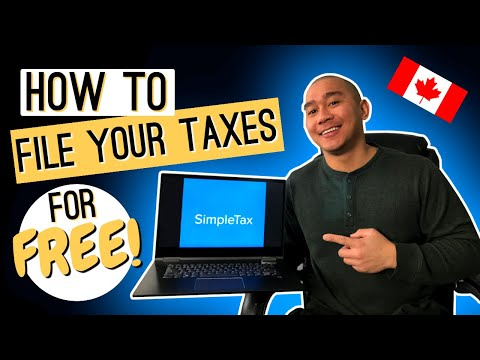 SimpleTax Tutorial & Review 2020 - How To File Taxes In Canada For FREE