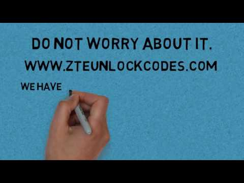 How to unlock ZTE BLADE VEC 3G - ZTE unlock codes