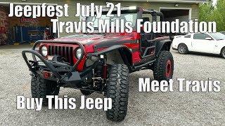 2006 Jeep TJ Rubicon Build For the Travis Mills Foundation | Jeep Fest July 21 Frankenmuth, MI