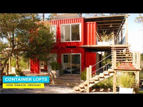 CDL- Container Design Lofts Apartment in José Ignacio, Uruguay