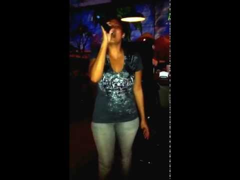 Jess Jones singing Vision of Love by Mariah Carey Karaoke