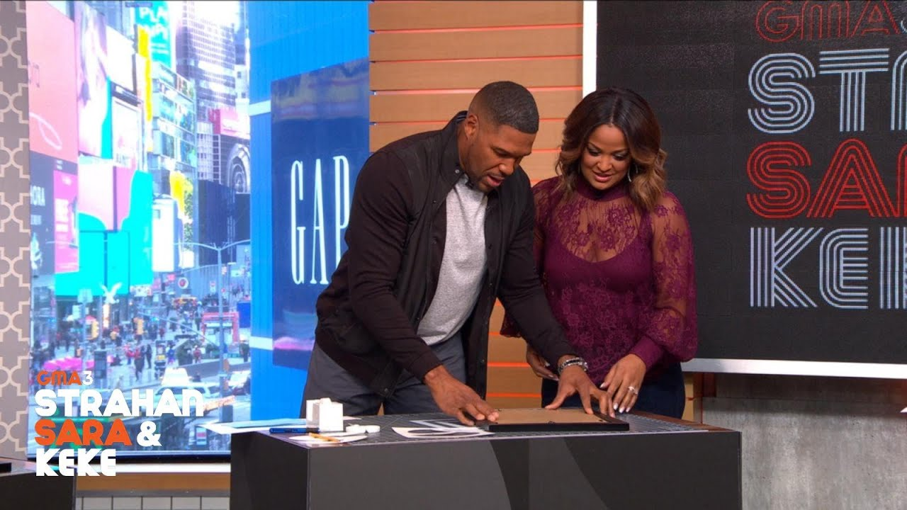 Laila Ali's Family Name Collage DIY Project