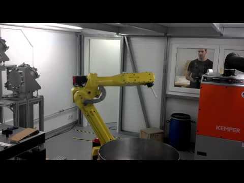 Hilase robotic arm positioning presentation