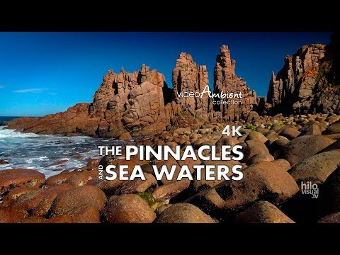 THE PINNACLES in CAPE WOOLAMAI 4K  & Nature Sounds