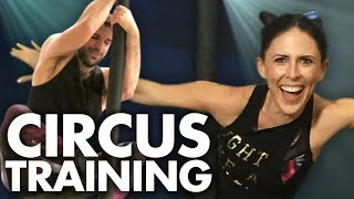 Joining the Circus w/ CIRQUE DU SOLEIL!! (Get Jacked)