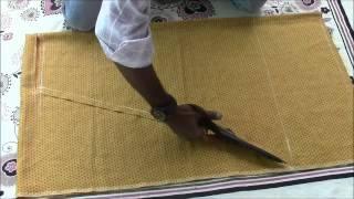 Repeat youtube video Salwaar Kameez Tutorial Part 2 Salwaar Cutting