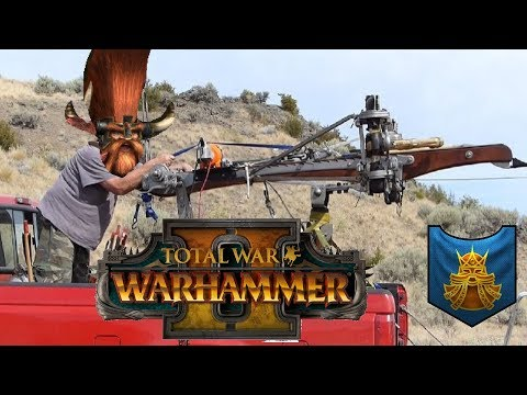 DAWI BOLTS | Dwarfs vs Lizardmen: Mortal Empires - Total War Warhammer 2