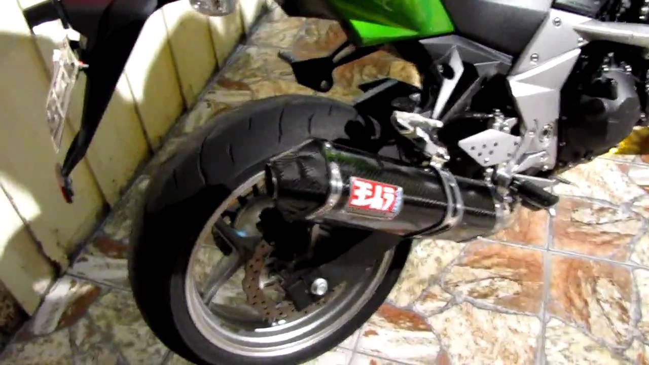 Kawasaki Z750 Yoshimura Trc Carbon Exhaust Youtube