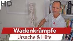 Wadenkrampf - Hilfe bei Wadenkrämpfen, Muskelkrämpfen, Muskelkrampf, Faszientraining, Faszien