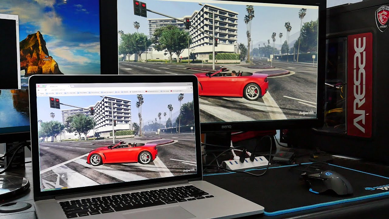 Play GTA 5 via Any Browser (Works with All Laptops / PC / Mac ...