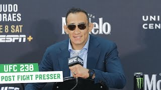 UFC 238 Post Fight Press Conference: Tony Ferguson