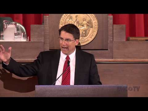NC Governor Pat McCrory Offers His 2013 State of the State Address | UNC-TV
