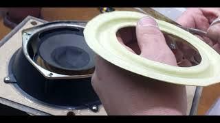 Это легко Восстановление ремонт динамика домашней акустической системы своими руками