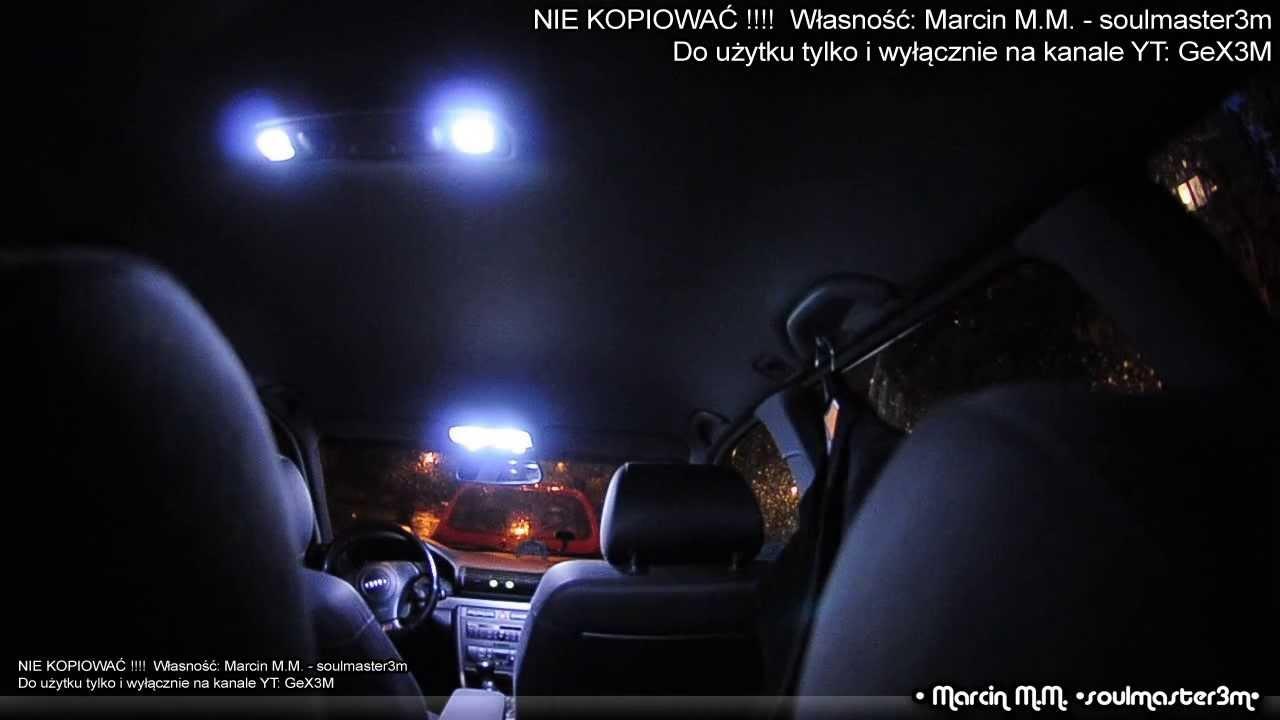 Audi A4 B5 Avant Diy Pakiet Led Oświetlenie Kabiny