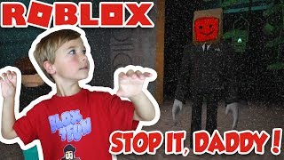 RUN FROM CREEPY SLENDER DAD! / STOP IT, SLENDER 2! / SURVIVE THE HORROR NIGHT in ROBLOX!