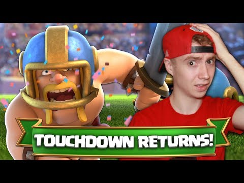 TOUCHDOWN IS BACK!! Magical Chest + Gold PRIZES! | Clash Royale