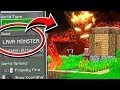 Do NOT Use The LAVA MONSTER Seed in Minecraft!