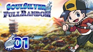 Pokémon Argent SoulSilver #01 FullRandom - Choix ÉTONNANT !