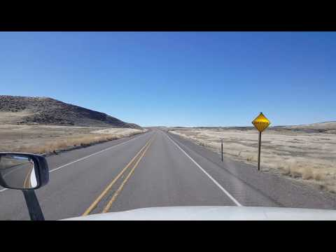 BigRigTravels US 95 South (Part 4) near Rome to Burns Junction, Oregon-Mar. 5, 2018