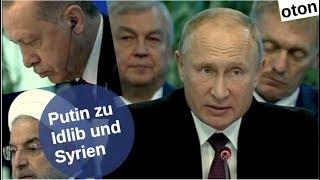 Putin zu Idlib und Syrien auf deutsch