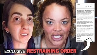 trisha files RESTRAINING ORDER against gabbie hanna... (messy)