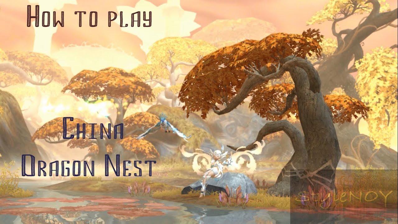 Китайский сервер dragon nest скачать