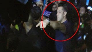 Salman Khan's bodyguards FIGHT with media at KICK Devil Song LAUNCH