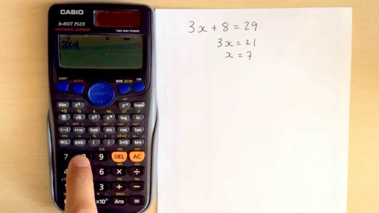 Calculator Hacks 4: Verify Equation Using Casio Fx85gt Youtube How To Calculate  Standard Deviation On