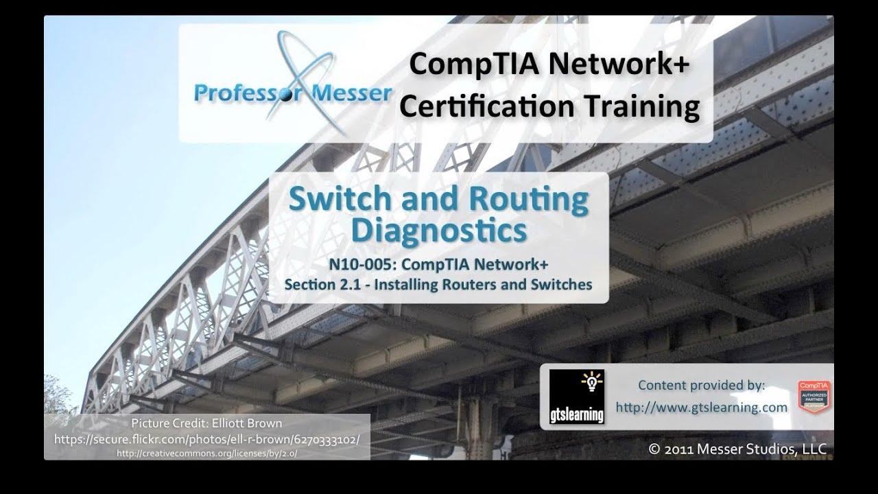 Switch And Routing Diagnostics Comptia Network N10 005 21 Youtube