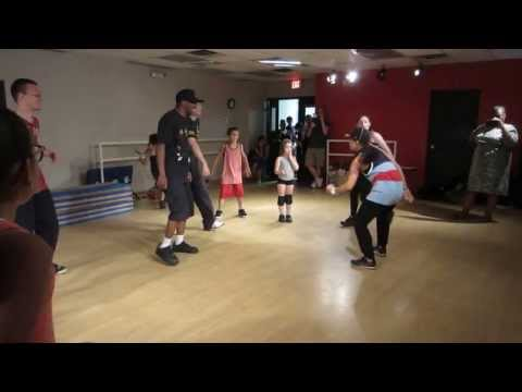 Mari Koda from the Step Up movies freestyles at Dance Designs