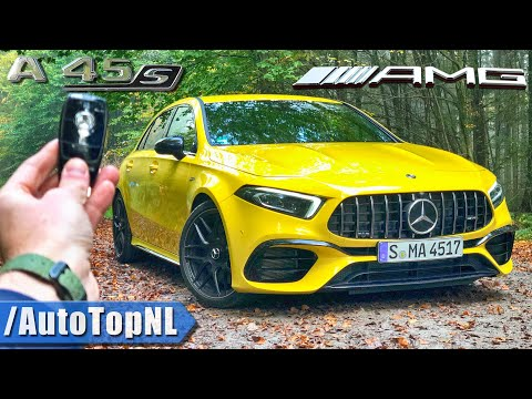MERCEDES-AMG A45 S 4Matic+ REVIEW POV On ROAD & AUTOBAHN By AutoTopNL