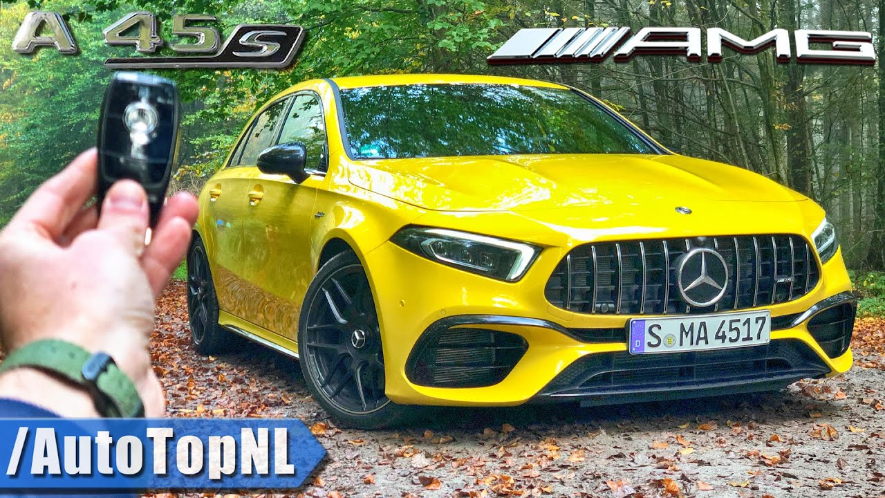 Download MERCEDES-AMG A45 S 4Matic+ REVIEW POV on ROAD & AUTOBAHN by AutoTopNL