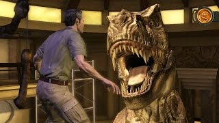 Jurassic Park: The Game (Telltale) - Episode 1, Part 7: Suck It Rex!