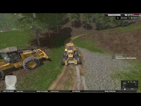 Farming Simulator 17 |  Logging |  The Interior | Testing The Chip Trailer