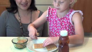 Graham Crackers, Peanut Butter, & Honey