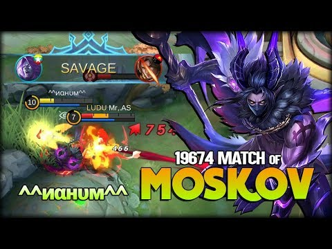 SAVAGE!! -300 Match to 20k Match of Moskov by  ^^иαнυм^^ - Mobile Legends