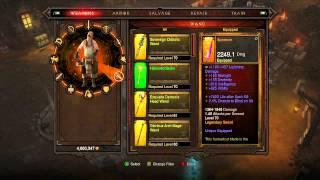 Diablo 3 RoS xbox 360 Farming