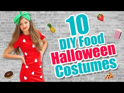 10 Food-Inspired DIY Halloween Costume Ideas | Kamri Noel