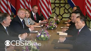 Trump - Kim Jong Un summit ends abruptly with no deal