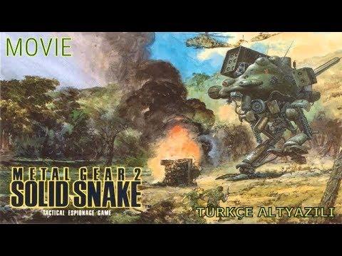 Metal Gear 2 Solid Snake The Movie: Zanzibar Land Disturbance Türkçe Altyazılı