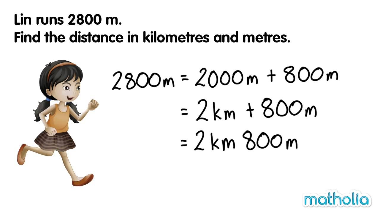 Converting Lengths Meters And Kilometres