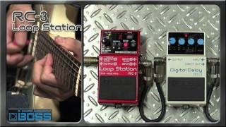 RC-3 Loop Station [BOSS Sound Check]